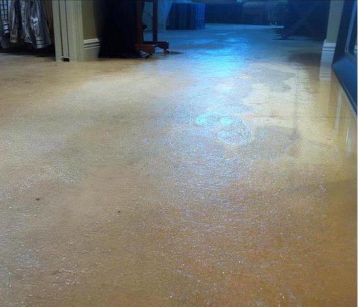Water Damage – Eagle Rock Home Before