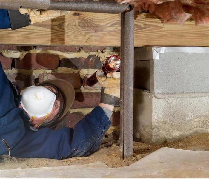 Water Damage A Burst Pipe Inside of Your Glendale Crawl Space May Leave You in Need of Water Removal Services